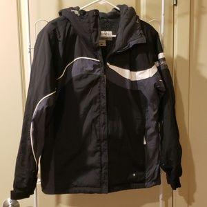 Columbia ski winter jacket gray black size large